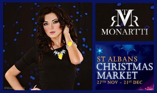 Monartti Jewellery at St Albans Xmas Market