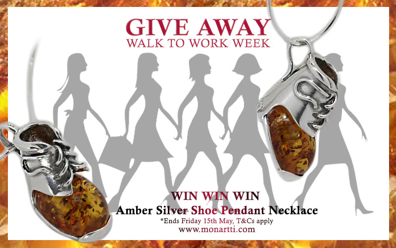 Walk to Work Give Away, Monartti Jewellery
