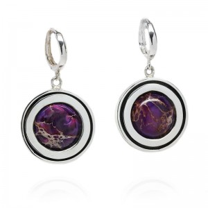 JASPER SILVER EARRINGS MAEA