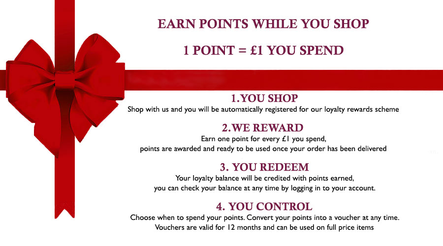 Loyalty Rewards Scheme, Monartti Jewellery