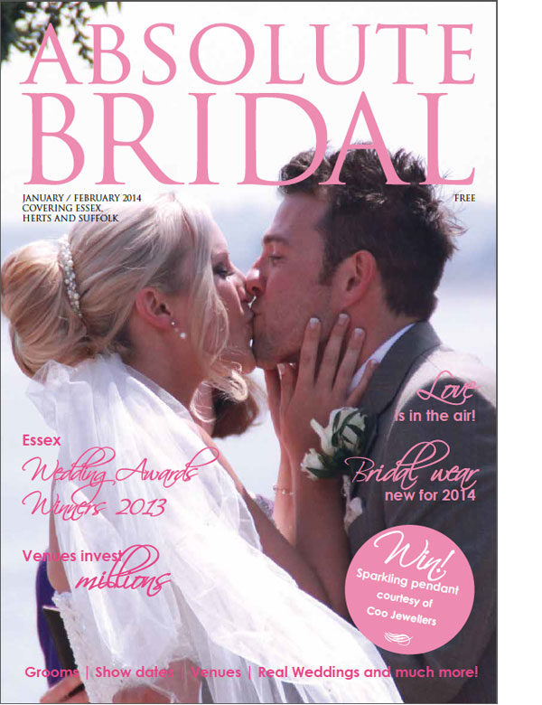 Absolute Bridal Essex, January/February 2014