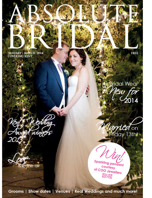 Absolute Bridal Kent, January - March 2014