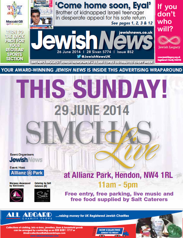 Monartti Jewellery featured in Jewish News