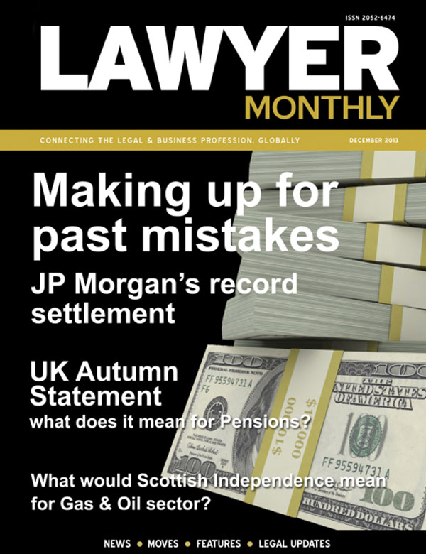 Lawyer Monthly, December 2013